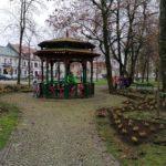 Altana w parku Konstytucji 3 Maja